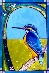 Featured 5 times - Kingfisher by Dora Hathazi Mendes