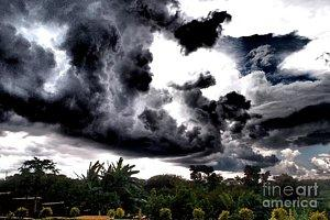 Featured Stormy Sky photograph by Dora Hathazi Mendes