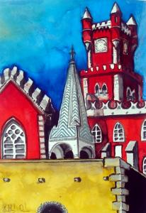 Pena Palace in Karavella Atelier by Dora Hathazi Mendes