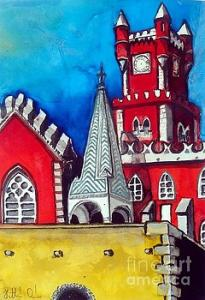 Featured 6 times- Pena Palace in Portugal by Dora Hathazi Mendes