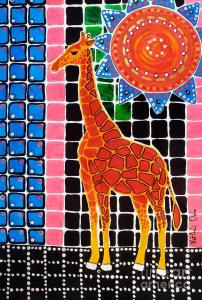 Featured 3 times Giraffe in the Bathroom by Dora Hathazi Mendes